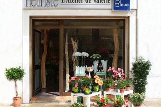 Fleuriste Lunel Fleur Bleue Atelier de Valérie au centre-ville sur le cours Gabriel Péri (® networld-Fabrice Chort)