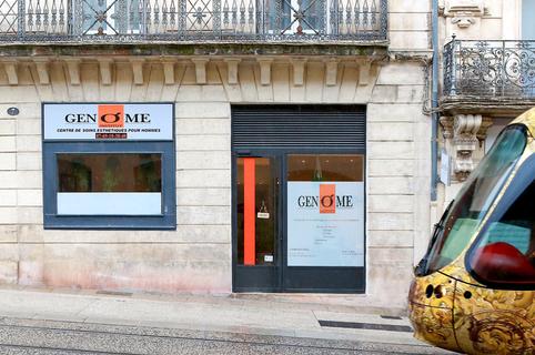 Genome Montpellier Institut de soins esthétiques pour hommes en centre-ville propose des prestations de mise en beauté et de soins pour le bien être de l'Homme.(® SAAM-fabrice Chort)