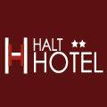 Logo de l'hotel-restaurant Halt Hôtel de Lattes proche de l'Arena, de l'aeroport et du Parc des Expositions de Montpellier.