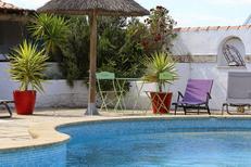L'hôtel La Palunette aux Saintes Maries de la Mer et sa piscine (® networld-fabrice Chort)