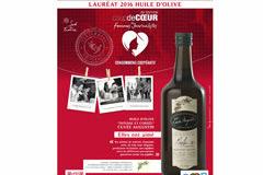 Huilerie Clermont l'Hérault a reçu le Coup de cœur 2016 pour l'Huile d'olive par des journalistes.