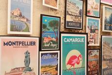 Images de Demain Montpellier propose des prestations d'encadrement pour les affiches et posters en centre-ville (® SAAM fabrice Chort)