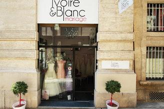 Ivoire et Blanc Mariage Montpellier proche de la rue Foch au centre-ville (® networld-Fabrice Chort)