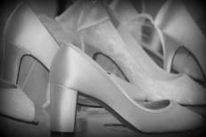 Ivoire et Blanc Mariage Montpellier propose un choix de chaussures et accessoires mariage au centre-ville (® NetWorld-Fabrice Chort)