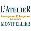 L'Atelier Montpellier réalise des aménagements intérieurs, des rangements sur mesure, des meubles sur mesure tels que bibliothèques, porte de placard, dressing.