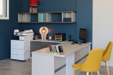 L'Atelier Montpellier Aménagement Rangement sur mesure réalise des bureaux sur mesure (® SAAM-Fabrice Chort)