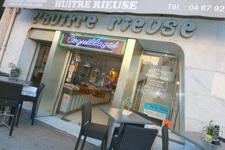La poissonnerie L'Huître Rieuse Montpellier propose de magnifiques poissons et fruits de mer au centre-ville de Montpellier (® NetWorld-Fabrice Chort)
