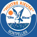 Poissonnerie Montpellier L'Huître Rieuse sur le boulevard Victor Hugo au centre-ville