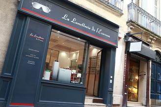La Lunetterie de l'Ecusson Opticien Montpellier centre qui vend des lunettes, des solaires et des lentilles proche de la Préfecture et de la Rue Foch.(® SAAM-fabrice Chort)
