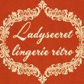 Logo du site Ladysecret Lingerie Retro qui propose une boutique en ligne de lingerie esprit Vintage
