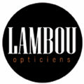Lambou opticiens, un magasin d'optique dans la Rue Saint Guilhem au centre-ville de Montpellier - logo