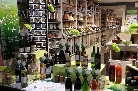 Le Panier d'Aimé Montpellier est une épicerie fine en centre-ville avec de nombreux produits régionaux et vins (® le panier d'aimé)