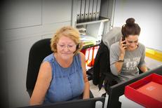 Téléassistance Montpellier avec Le Sourire de Nestor Montpellier spécialiste de l'aide pour les personnes âgées ou dépendantes (® SAAM-fabrice Chort)