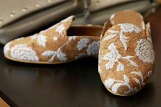 Boutique Vegan Montpellier Les 3 L vend aussi des chaussures vegan en centre-ville (® SAAM-fabrice Chort)