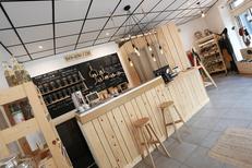 Boutique CBD Montpellier Les Herbes de Lajoie vend des produits à base de chanvre en centre-ville (® SAAM-Fabrice Chort)