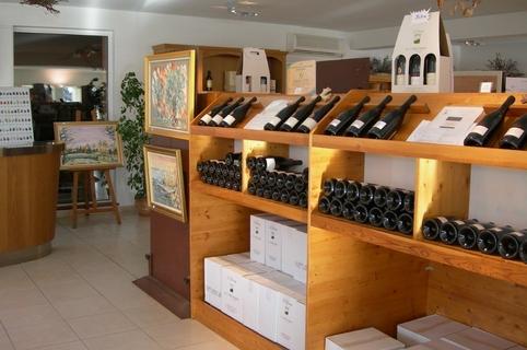 Caveau des vins des Vignerons de la Gravette de Corconne (credits photos: Gravette)