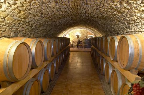 Château Roumanières Vins en terroir Grès de Montpellier dans le village de Garrigues entre Pic Saint Loup et Sommières (® Ch.Roumanières - Alain Escudier)
