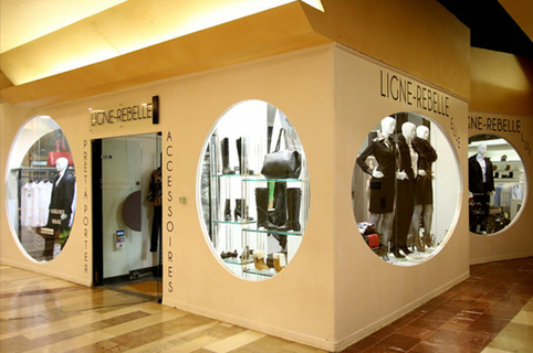 Ligne Rebelle Montpellier boutique de vêtements au Triangle au centre-ville (® networld-Fabrice Chort)