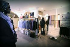 Ligne Rebelle Montpellier vend des vêtements Homme au Triangle au centre-ville (® networld-Fabrice Chort)