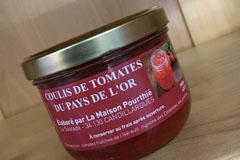 Pourthié Candillargues réalise du coulis de tomates maison