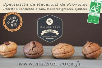 Maison Roux Montpellier propose des macarons bio artisanaux en centre-ville (® Maison Roux)