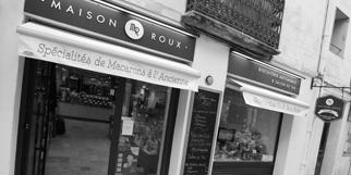 Maison Roux Montpellier propose des macarons bio artisanaux en centre-ville sans gluten (® networld-fabrice Chort)