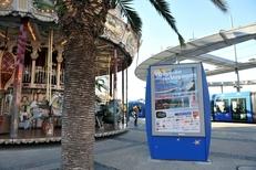 Emplacement d'affichage au  dans la ville de Montpellier par Mediaffiche