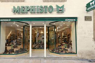 Mephisto Montpellier specialiste de chaussures confortables dans la Grand Rue au centre-ville (® SAAM-fabrice Chort)