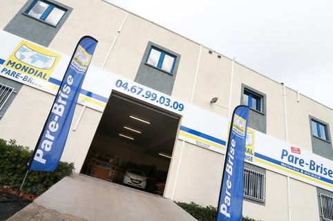 Mondial Pare Brise Lattes répare les pare-brises et remplace les vitres aux portes de Montpellier (® SAAM- Fabrice Chort)