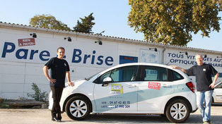 Mondial Pare Brise Lattes et son atelier de Boirargues aux portes de Montpellier (® networld-Fabrice Chort)