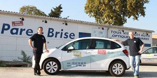 Mondial Pare Brise Lattes répare les pare-brises et remplace les vitres aux portes de Montpellier à Boirargues (® networld-Fabrice Chort)