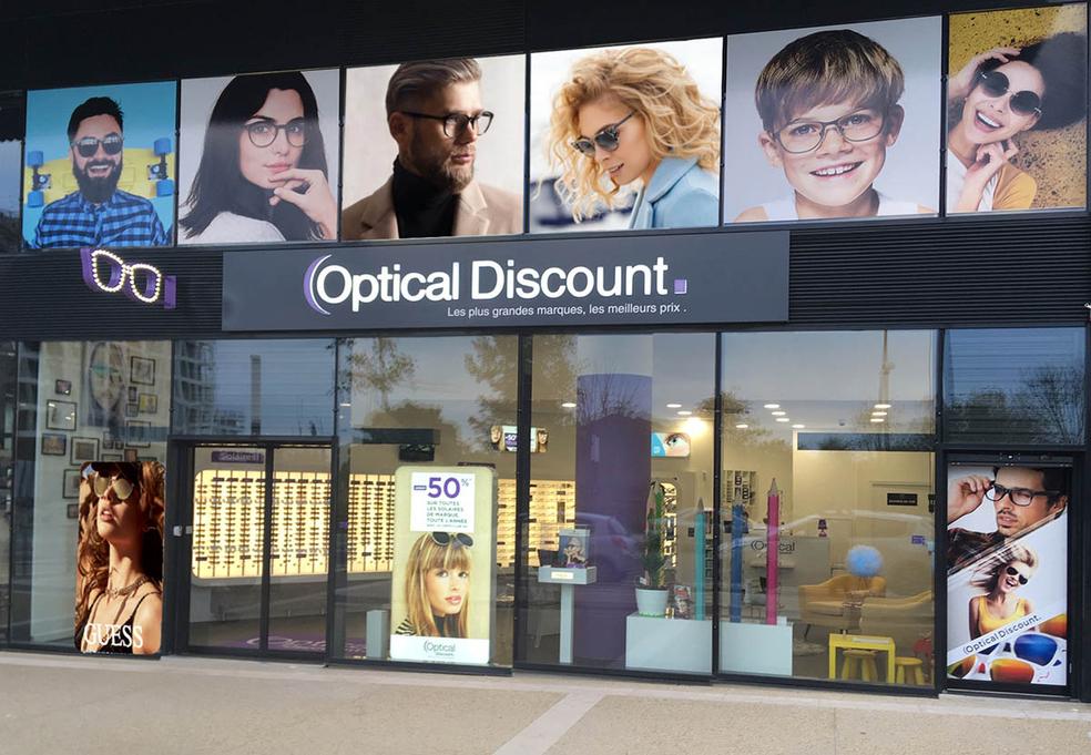 a899ce8d8f Optical Discount Montpellier Opticien propose un grand choix d'optique,  solaires et lentilles à