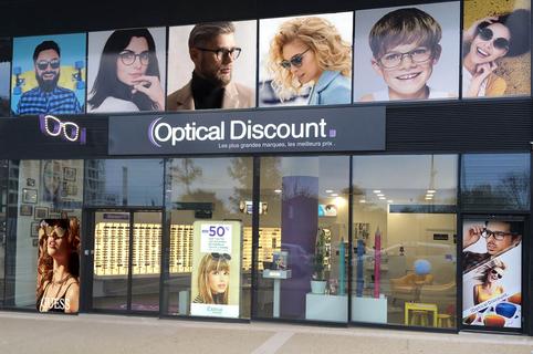 Optical Discount Montpellier Opticien propose un grand choix d'optique, solaires et lentilles à Port Marianne.