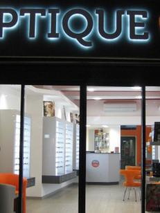 Optique Saint Denis Montpellier est un opticien dans la rue du Faubourg de la Saunerie au centre ville de Montpellier (® networld-fabrice chort)