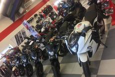Honda Montpellier chez Pascal Moto Montpellier ici gamme 650 eligible au permis A2 : cbr650 et cbf650 (® pascal moto)