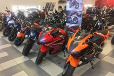 Moto Honda Montpellier chez Pascal Moto Montpellier ici gamme 500 pour permis A2 (cbr500r, cbf500 et cb500x) (® pascal moto)