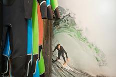 Patagonia Montpellier présente des combinaisons pour le surf (® Raphaël Fourau-Patagonia)