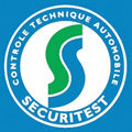 Logo du centre de controle technique auto Securitest au centre de Lunel