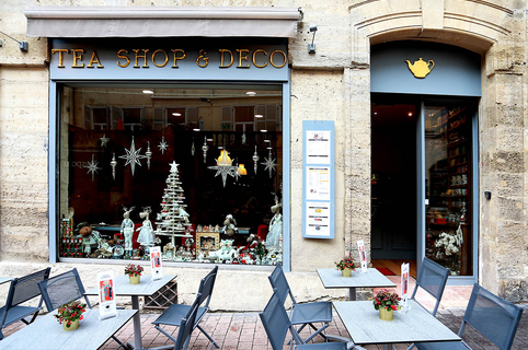 Tea Shop Déco Montpellier est un salon de thé et une boutique dédiée à l'univers du thé en centre-ville.(® SAAM-fabrice Chort)