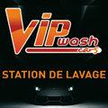 Logo de la Station de Lavage VIP Wash aux portes de Montpellier sur la commune de Lattes