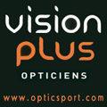 Logo de l'opticien Vision Plus au centre de Mauguio