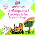 APEF services Lattes propose des offres pour le Ménage de Printemps.