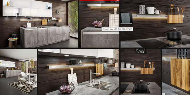 atelier c clapiers cuisiniste pr sente la cuisine syrius chez leicht. Black Bedroom Furniture Sets. Home Design Ideas