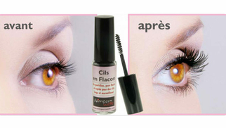 Cils en flacon dans l'institut Beauty'full esthétique de St Gély du fesc (credits photos: Beauty'full)