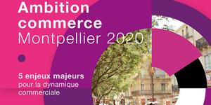 La CCI Montpellier présente son programme Ambition Commerce Montpellier 2020 pour soutenir le commerce du centre-ville.