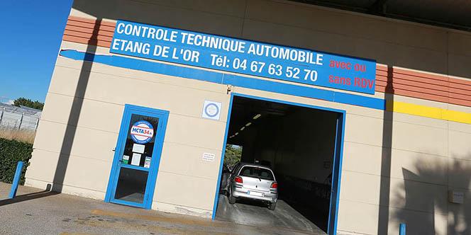Contrôle technique auto Mauguio MCTA34 reste à votre disposition après le déconfinement  (® SAAM fabrice Chort)