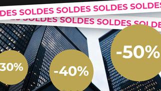 Coqueline Montpellier Boutique de luxe en centre-ville solde jusqu'à -50% une sélection d'articles jusqu'au 2 février.