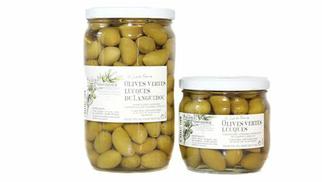 Olives Lucques à découvrir à l'Huilerie Confiserie de Clermont l'Hérault