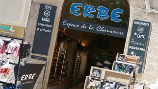 Erbé Espace de la Chaussure Montpellier annonce une nouvelle collection de chaussures multi-marques.(® SAAM fabrice Chort)