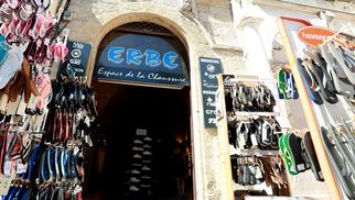 Erbé Espace de la Chaussure Montpellier propose la nouvelle collection de chaussures pour hommes, femmes et enfants.(® SAAM-fabrice Chort)